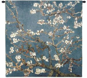 Almond Blossom by Vincent van Gogh | 35 x 35 | Tapestry Wall Decor