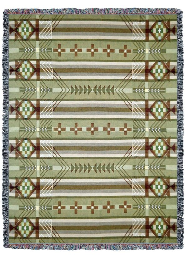 Antelope Ridge Juniper Southwest Tapestry Throw | 72 x 54