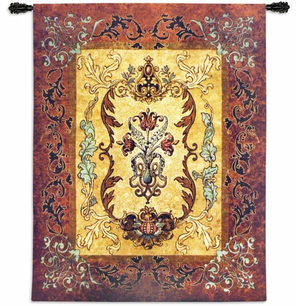 Antique | 53 x 41 | Woven Tapestry