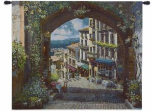Arch de Cagnes (Large) | 57 x 63 | Woven Tapestry Decor
