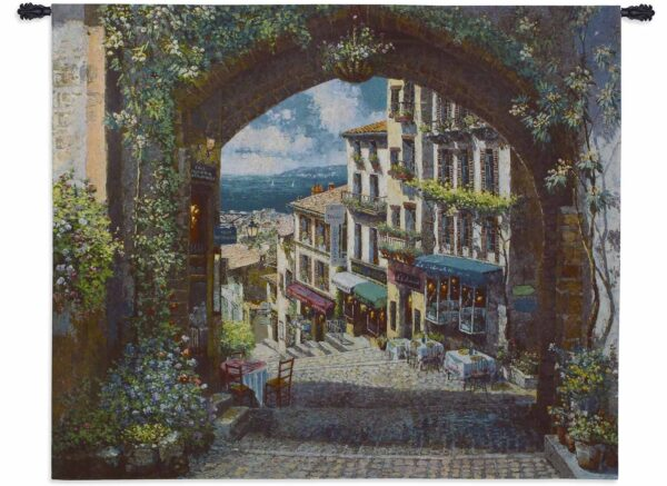 Arch de Cagnes (Large)   57 x 63   Woven Tapestry Decor