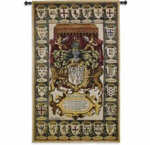 Armes Of Kings | 39 x 63 | Woven Tapestry Decor