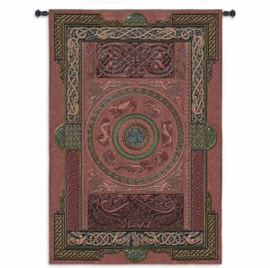 "Ashling Leather Applique | 53"" x 80"" 
