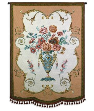 Aubusson | French Country Floral Tapestry | 49 x 36