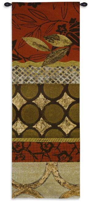 Autumn Fusion II | 21 x 62 | Woven Hanging Tapestry