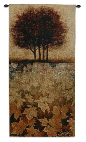 Autumn Minuet II | 52 x 26 | Woven Hanging Tapestry