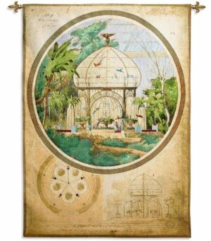 """Aviary in a Winter Garden 