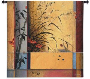 "Bamboo Division | 53"" x 53"" 