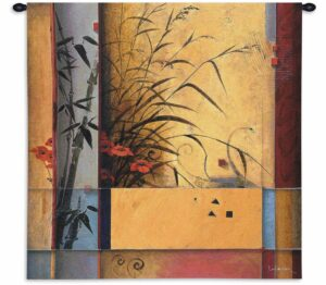 Bamboo Division (Small) | 31 x 31 | Tapestry Wall Decor