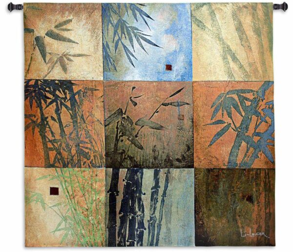 Bamboo Nine Patch | 44 x 44 Wall Decor