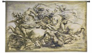 Battle of Anghiari | 92 x 63 | Woven Wall Tapestry