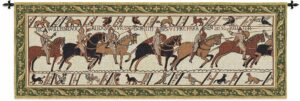 "Bayeux Horses | 80"" x 27"" 