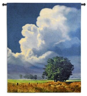 Before The Storm | Landscape Wall Tapestry | 64 x 53