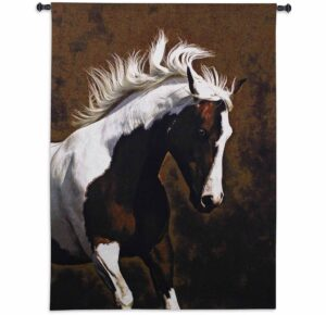 Bella IV (Horse) by Robert Dawson | 47 x 63 | Tapestry