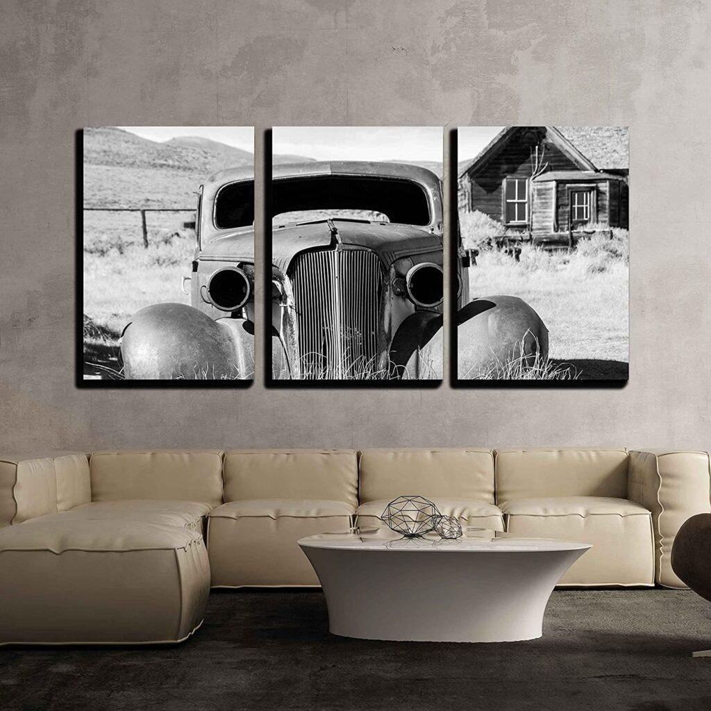 Better Days Black & White 3-Piece Photographic Art Print