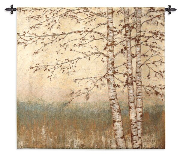 Birch Silhouette I | Wall Tapestry | 48 x 52
