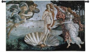 Birth Of Venus | 34 x 53 | Woven Tapestry