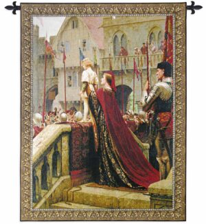 Blair Leighton's A Little Prince Large | 52 x 65 | Woven Tapestry Decor