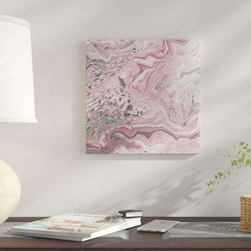 Blush Minerals II Graphic Art Prints on Canvas