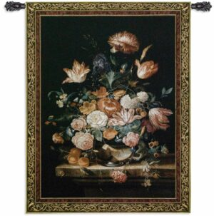 Bouquet Of Majesty | 76 x 53 | Large Tapestry Wall Hanging