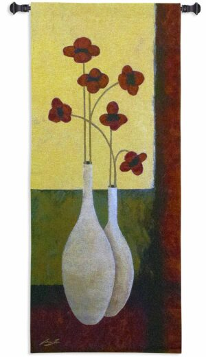 "Bouquet de Six | 27"" x 62"" 