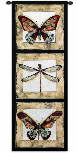 "Butterfly Dragonfly I | 18"" x 49"" 