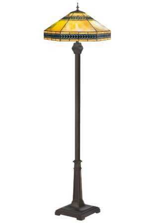 Cambridge Stained Glass Floor Lamp | 64""