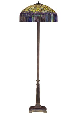 Candice Tiffany Stained Glass Floor Lamp | 65""