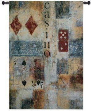 "Casino Abstract | 36"" x 53"" 