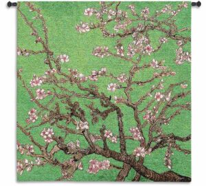 Cherry Blossom | 35 x 35 | Woven Hanging Tapestry