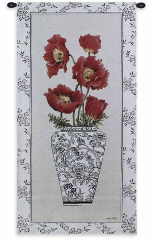 "Chinois Poppy | 25"" x 52"" 