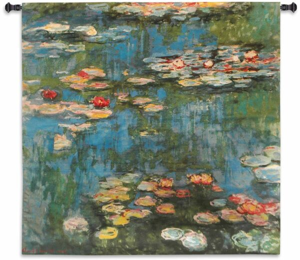 Claude Monet - Water Lilies | Tapestry | 45 x 46