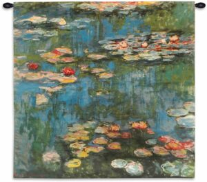 Claude Monet - Water Lilies | Tapestry | 30 x 31