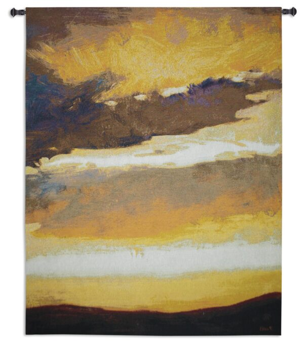 Cloud Fragment | Woven Contemporary Landscape Tapestry | 53 x 40