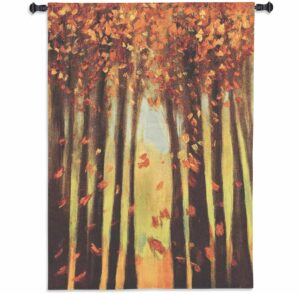 Colors of Fall II | 40 x 53 | Woven Wall Tapestry
