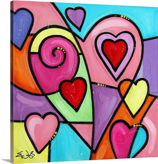 Colourful Love II by Eric Waugh