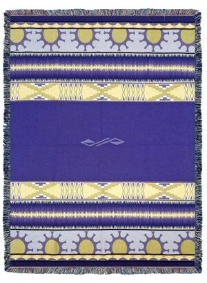 Concho Springs Plum Southwest Tapestry Throw | 72 x 54