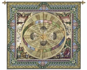 Copernican System | 52 x 57 | Woven Wall Tapestry