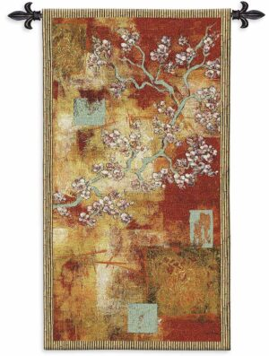 "Damask Blossom | 30"" x 53"" 
