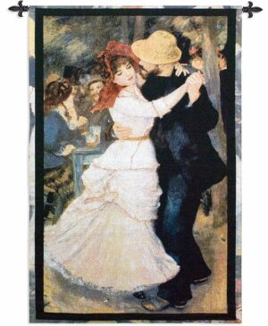 "Dance at Bougival | 38"" x 53"" 