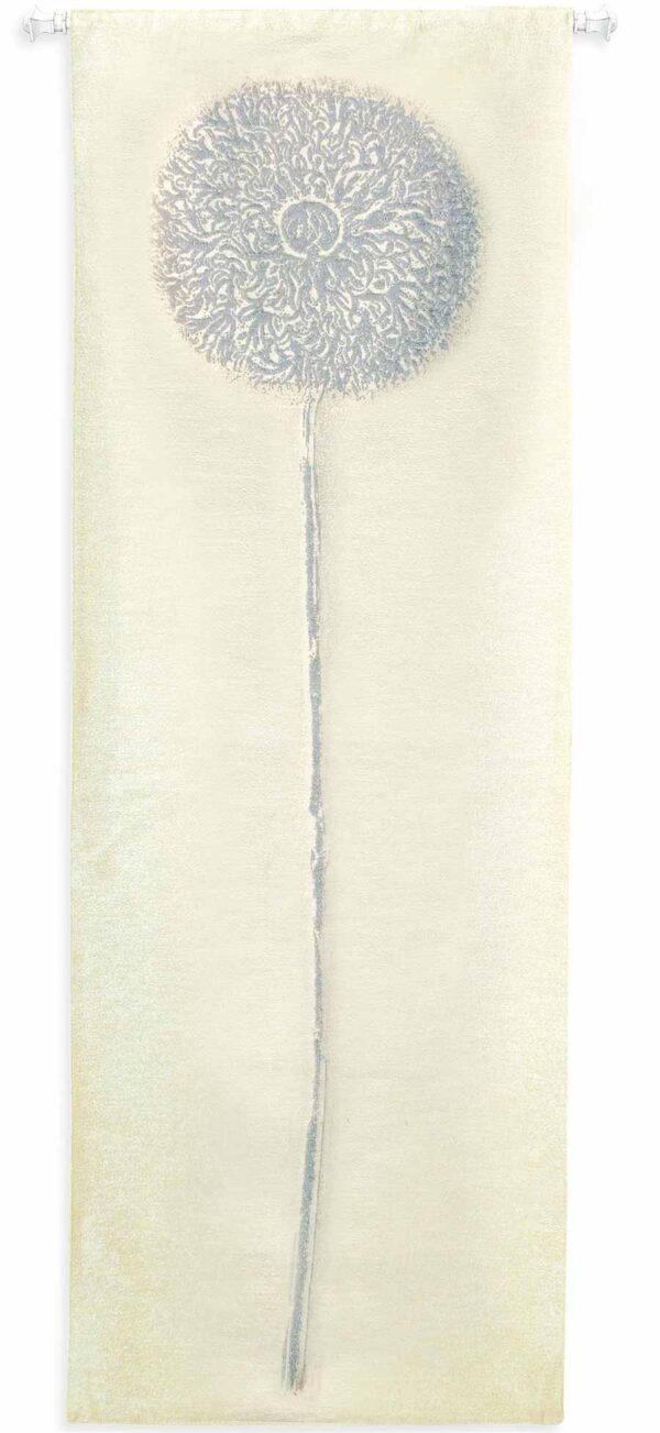 Double Opium Silver | 30 x 88 | Woven Tapestry Decor