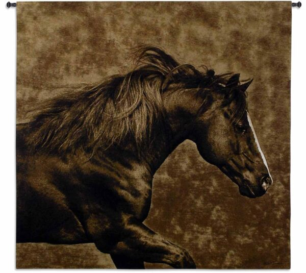 Eastward Gallop ( Horse ) | 51 x 53 | Wall Tapestry