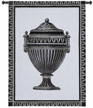 "Empire Urn II Noir | 27"" x 34"" 