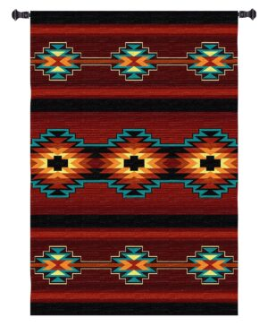 Esme | Southwest Pattern Woven Tapestry | 73 x 53