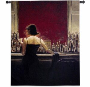 Evening Lounge | 53 x 41 | Tapestry Wall Decor