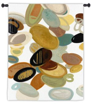 "Falling Stones by Cat Tesla | Tapestry Wall Art | 48"" x 32"""