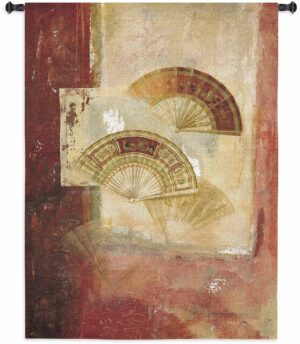 "Fan Abstract | 39"" x 52"" 