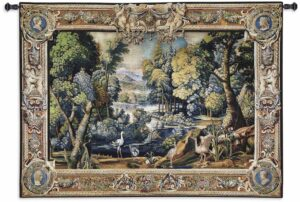 "Fine Art Tapestry Landscape | 71"" x 53"" 