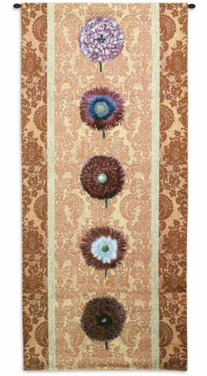 "Floating Botanicals Apricot | 26"" x 57"" 