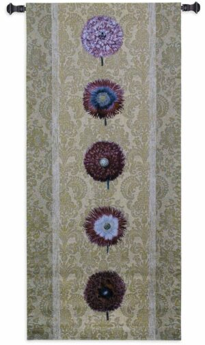 "Floating Botanicals Butter | 26"" x 57"" 